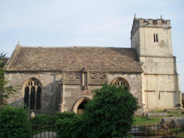 St James' parish church, Churchend, Charfield, Gloucestershire