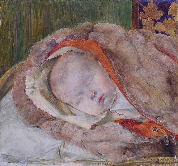 Study of a dead child windus