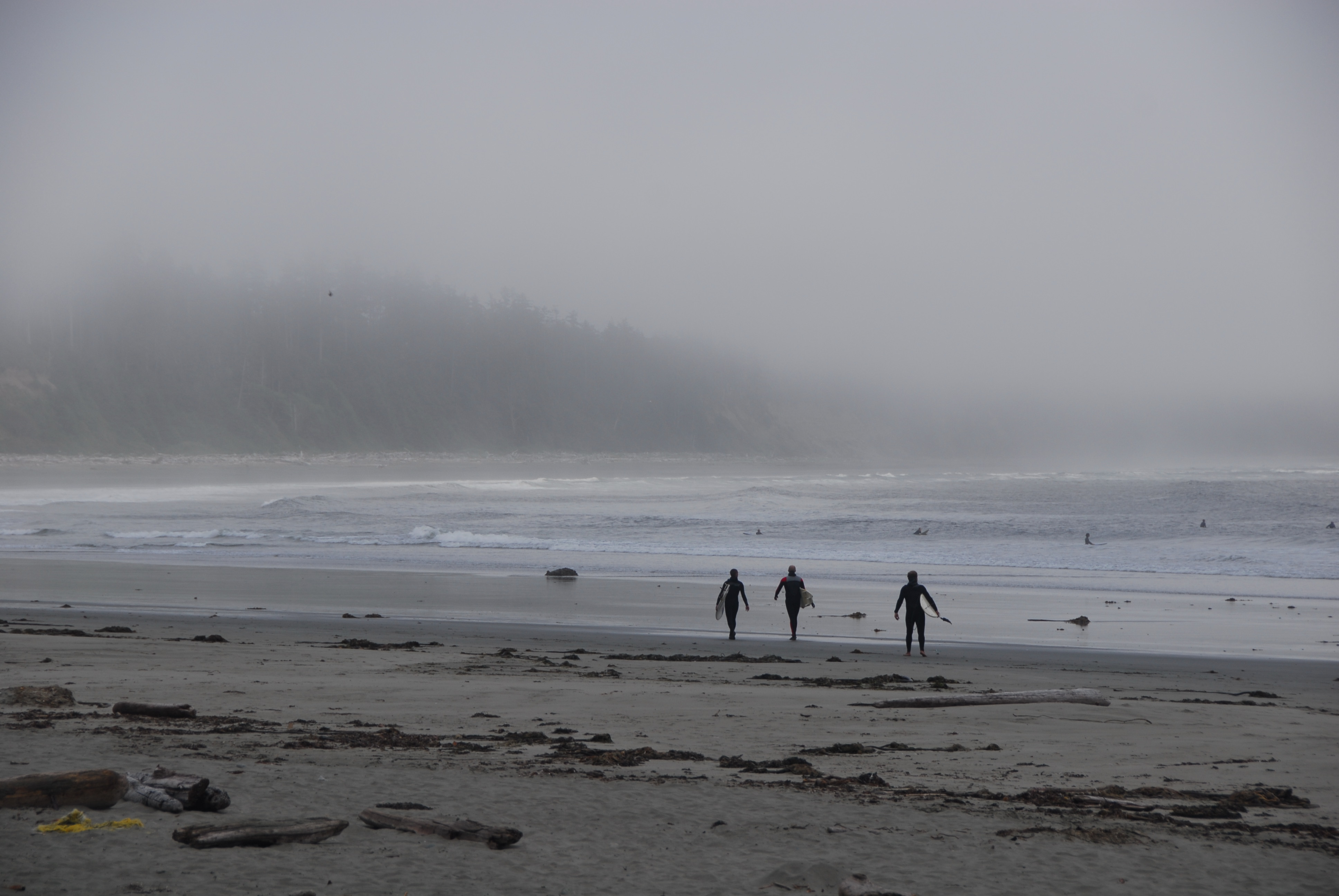 File Sufers And Fog At Long Beach Bc 2