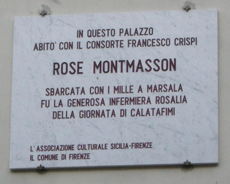 Risultati immagini per ROSALIA MONTMASSON CRISPI