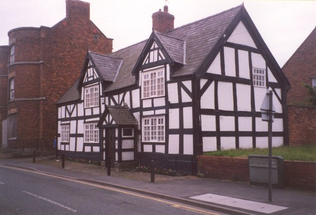 Timber-framed house, High Street, Wem - geograph.org.uk - 345061