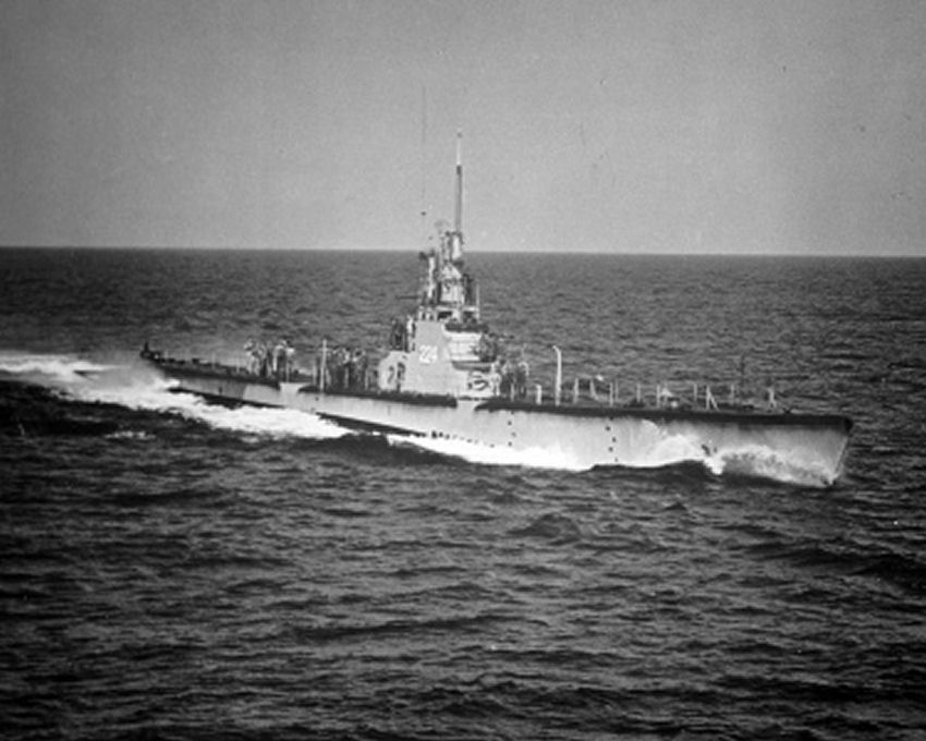 USS Cod in WWII