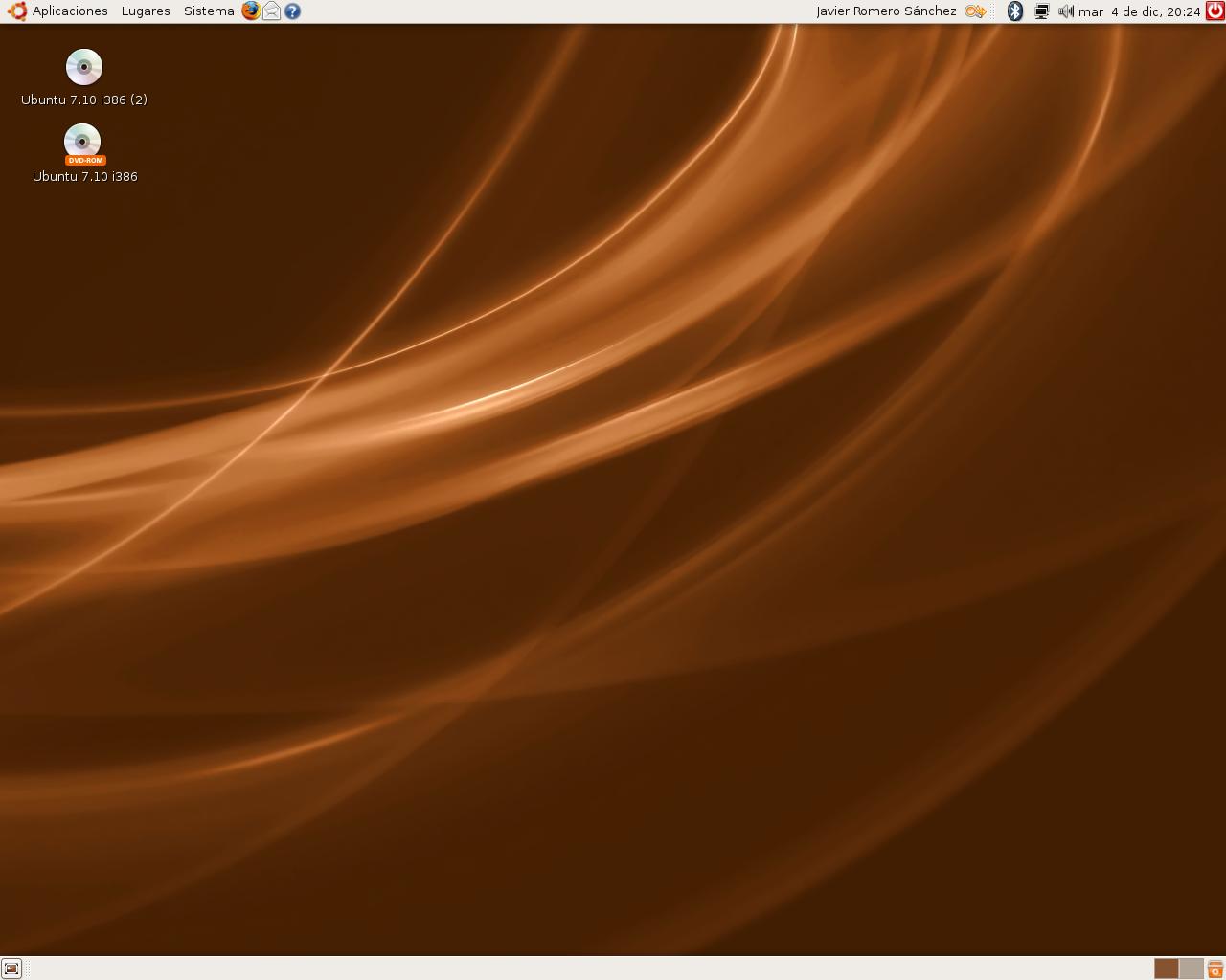 ubuntu gutsy animated