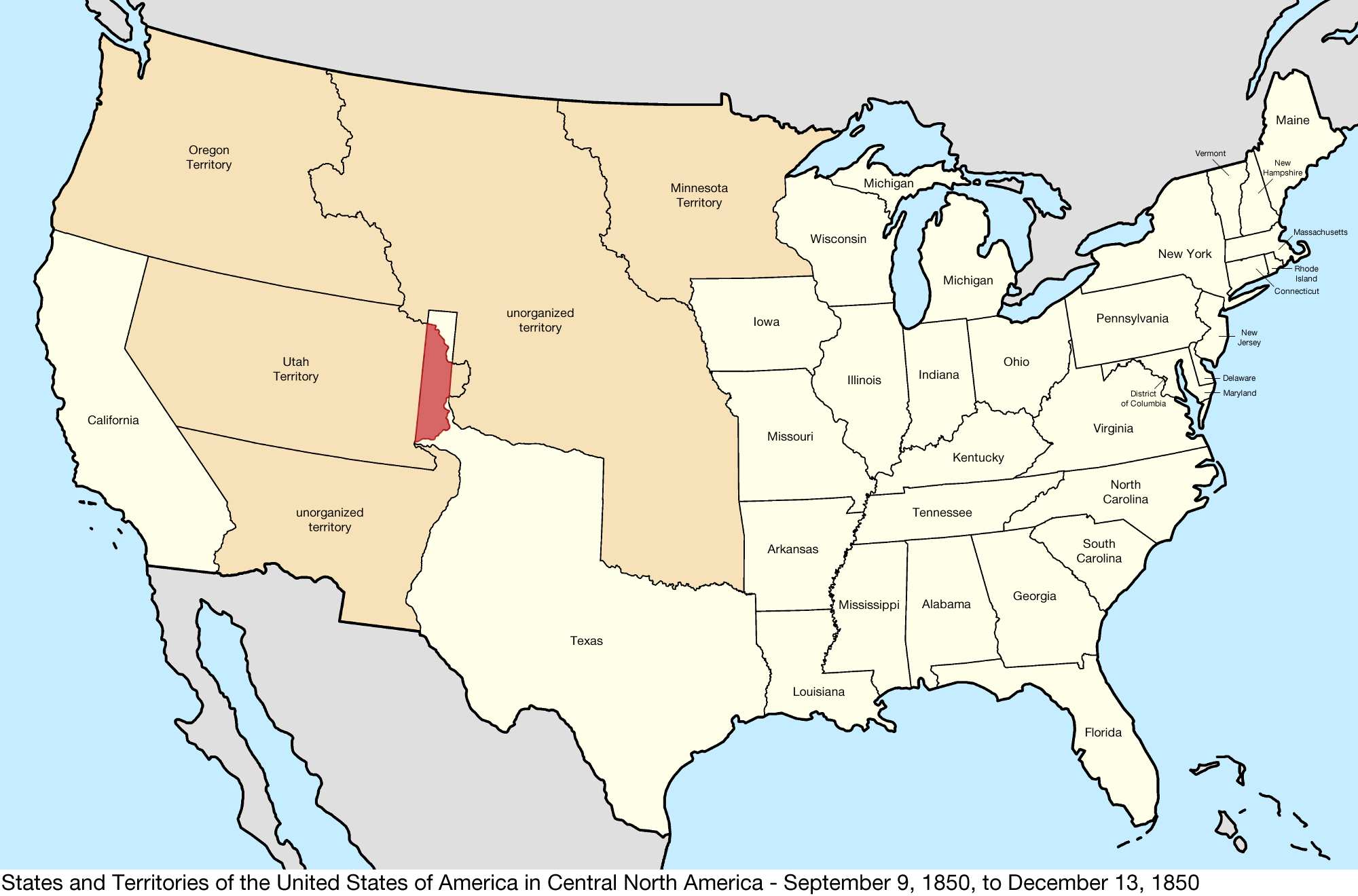 The Mexican War And The Compromise Of US History Map - Indiana on a us map
