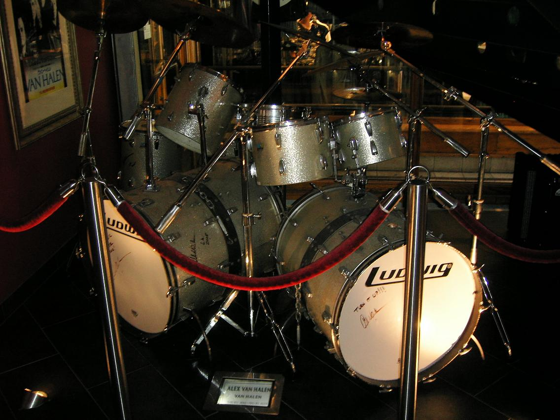 Alex Van Halen Drum Kit
