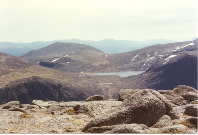 View to the South from the Summit of Cairngorm - geograph.org.uk - 950233