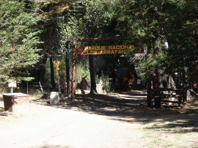 Parque Nacional de los Arrayanes, en Villa La Angostura, en la Patagonia de Argentina.