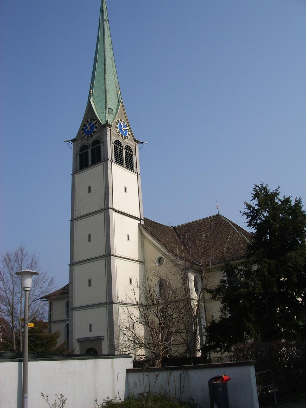 Reformierte Kirche Wädenswil – Wikipedia
