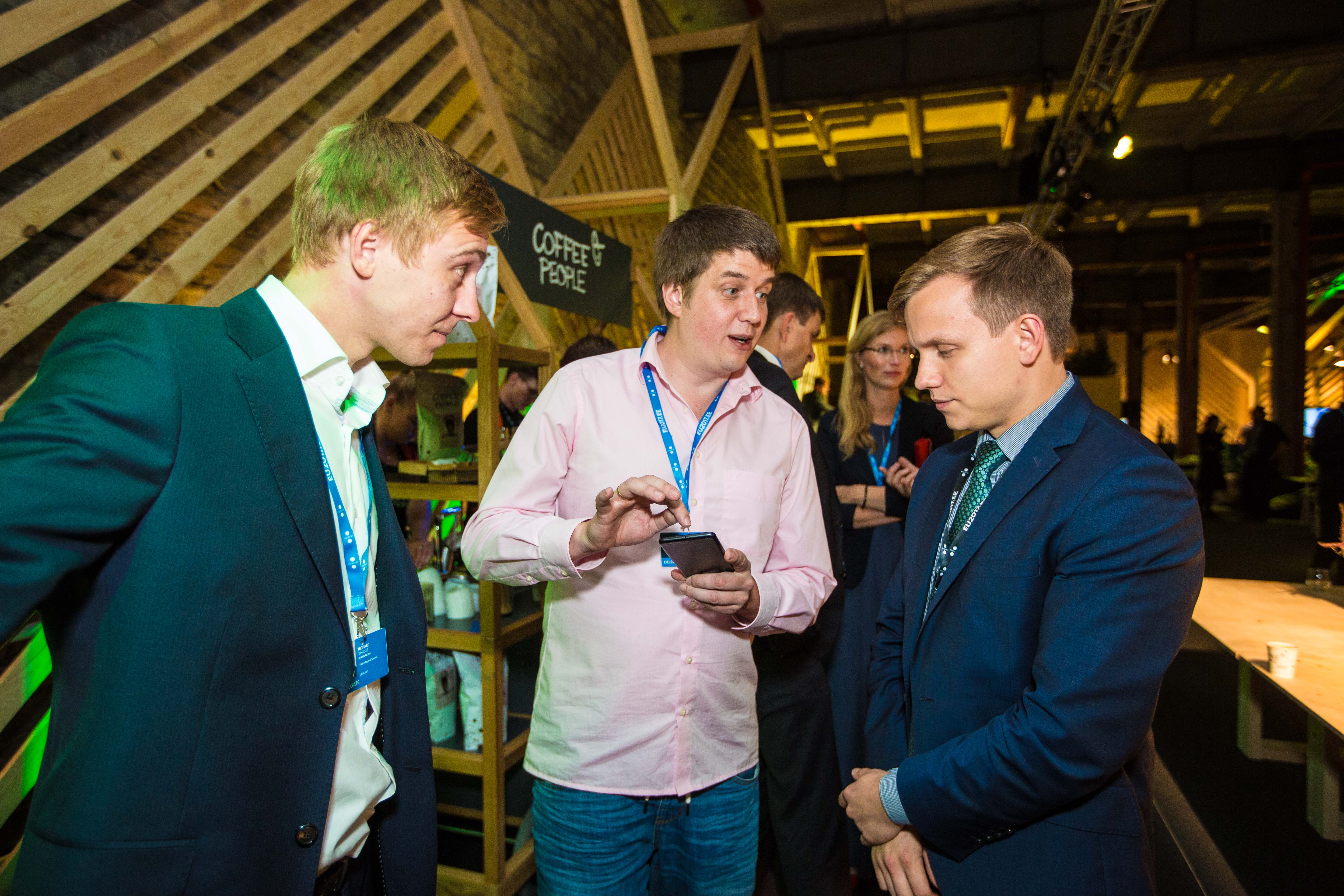 """Networking event for journalists with the Estonian startup community"" (36778735023).jpg Photo: Ivan Panasjuk (EU2017EE) Date 28 September"