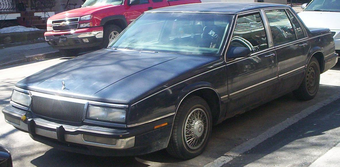 1991 Buick LeSabre, the worlds crappiest car.  Couldnt even get us to the Target on the south side so we could buy a new router.