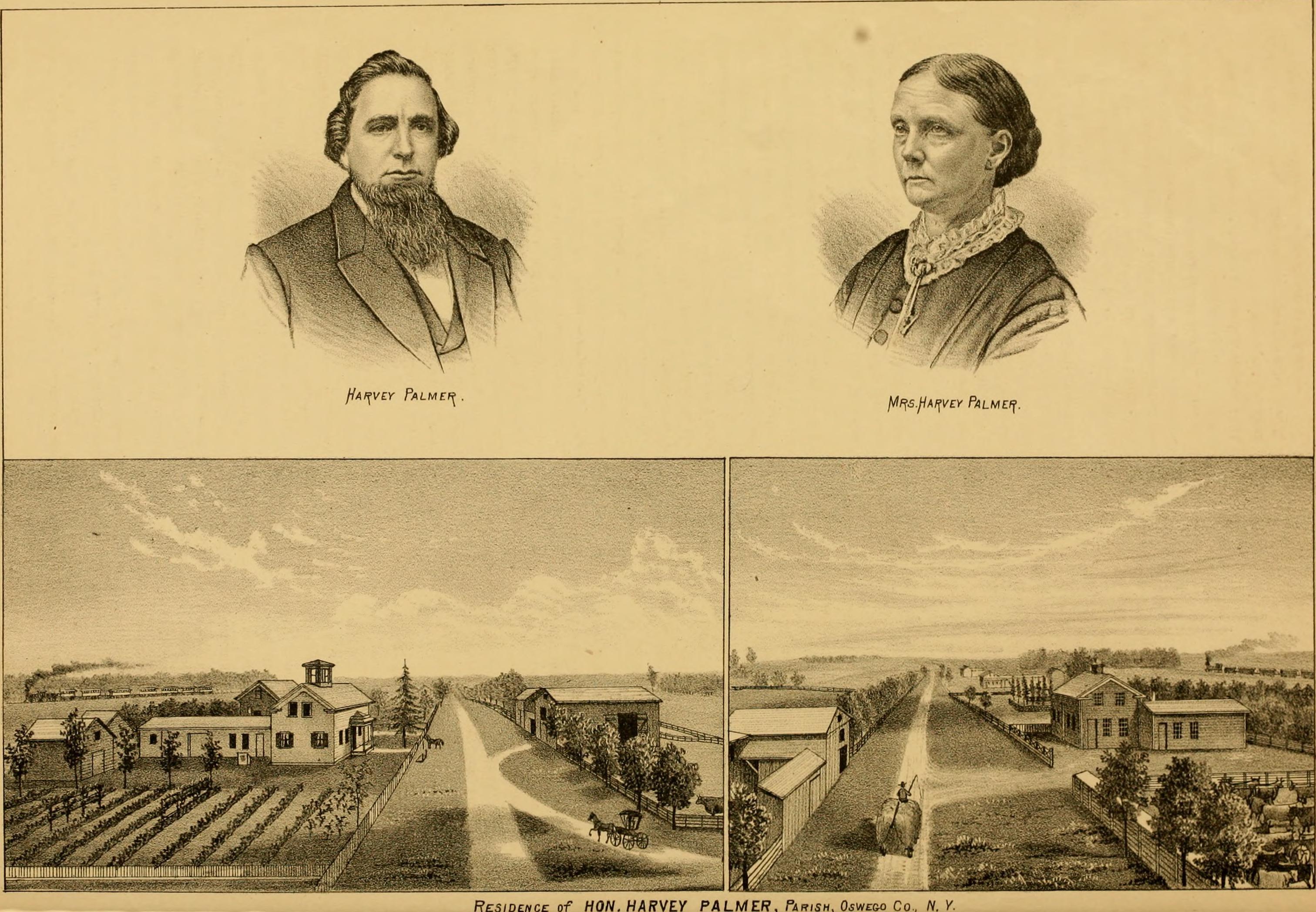 New york oswego county parish - History Of Oswego County New York 1877