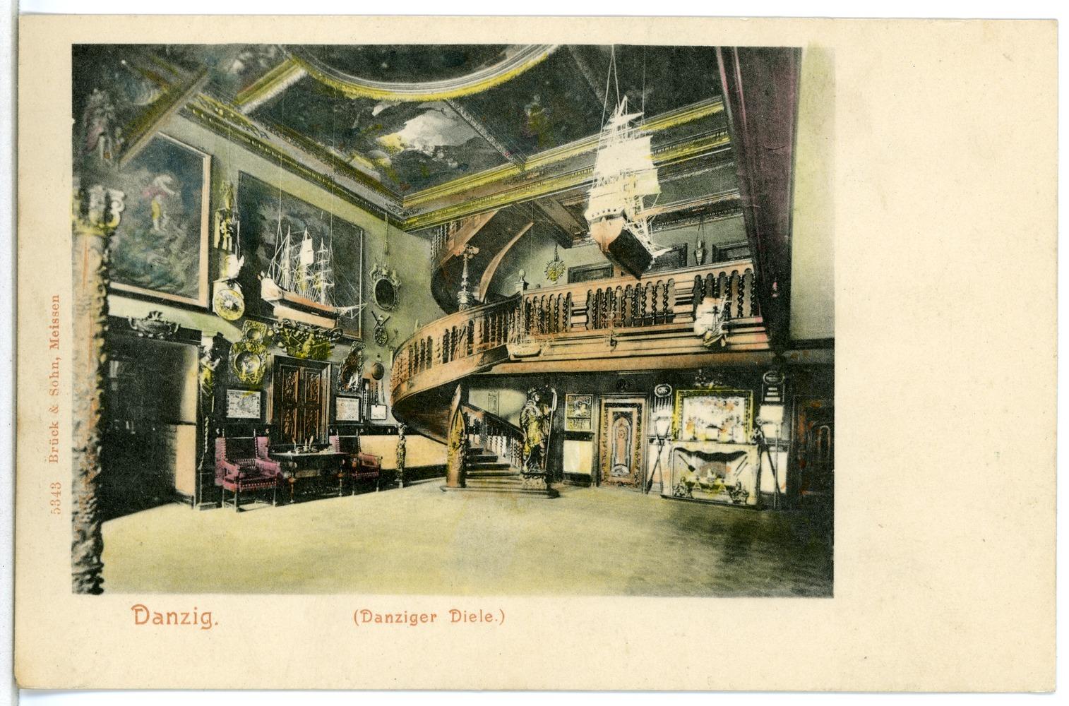 Eitelkeit Diele Modern Dekoration Von File:05343-danzig-1904-danziger Diele-brück & Sohn Kunstverlag.