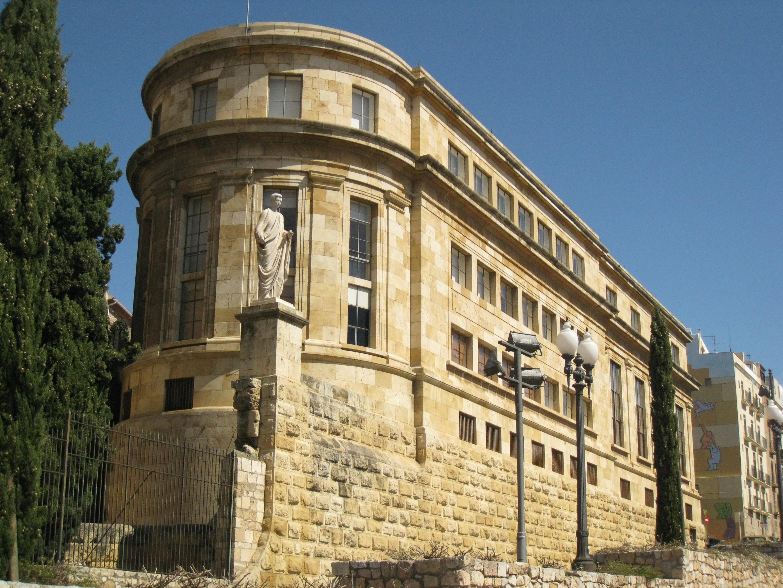 Fitxer:142 Museu Nacional Arqueològic de Tarragona, passeig de Sant Antoni.jp...