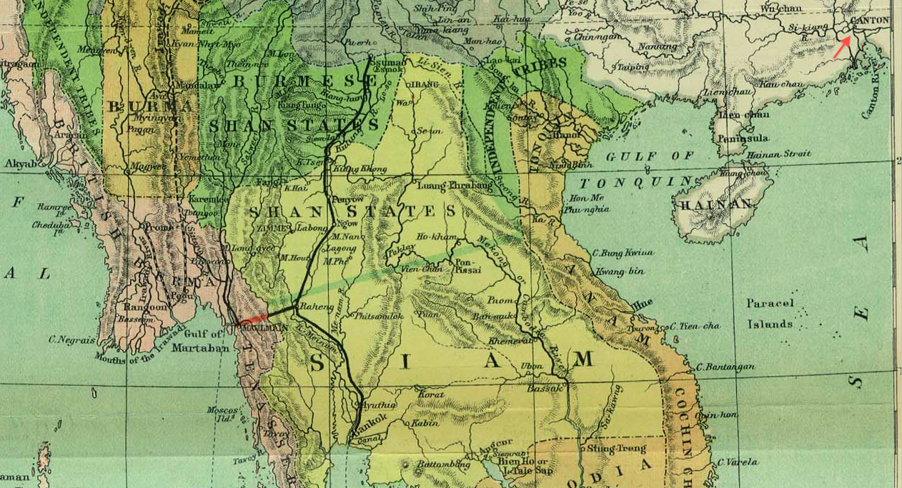 File:1886 Canton detail of Indo China map in Scottish Geographical on