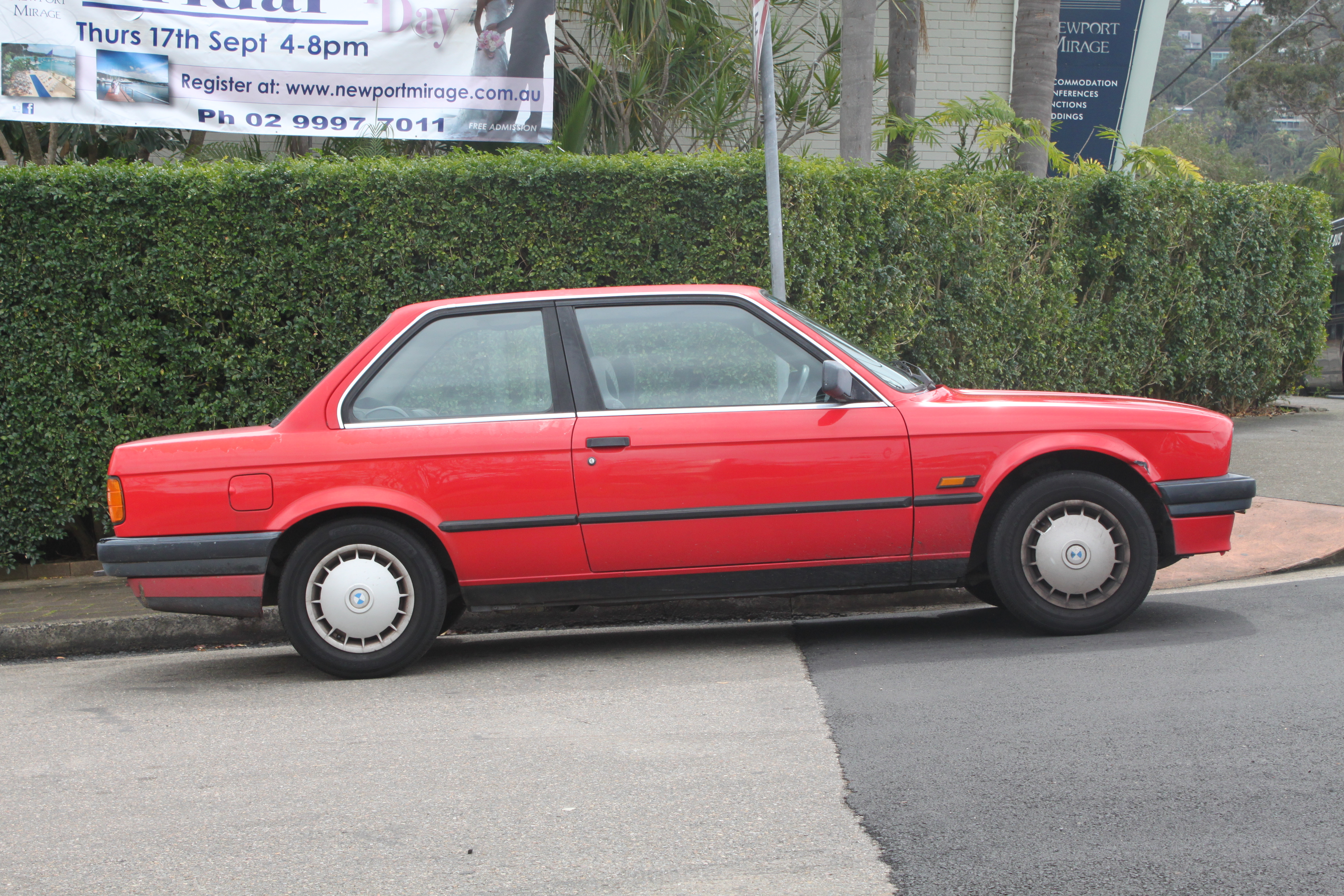 File1990 Bmw 318i E30 2 Door Sedan 22189769286jpg Wikimedia