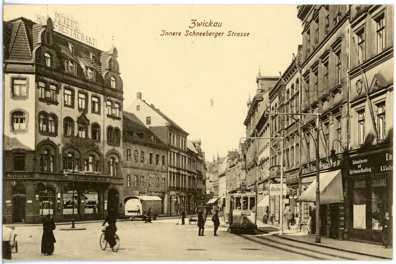 File 19910 Zwickau 1915 Innere Schneeberger Strasse Bruck Sohn