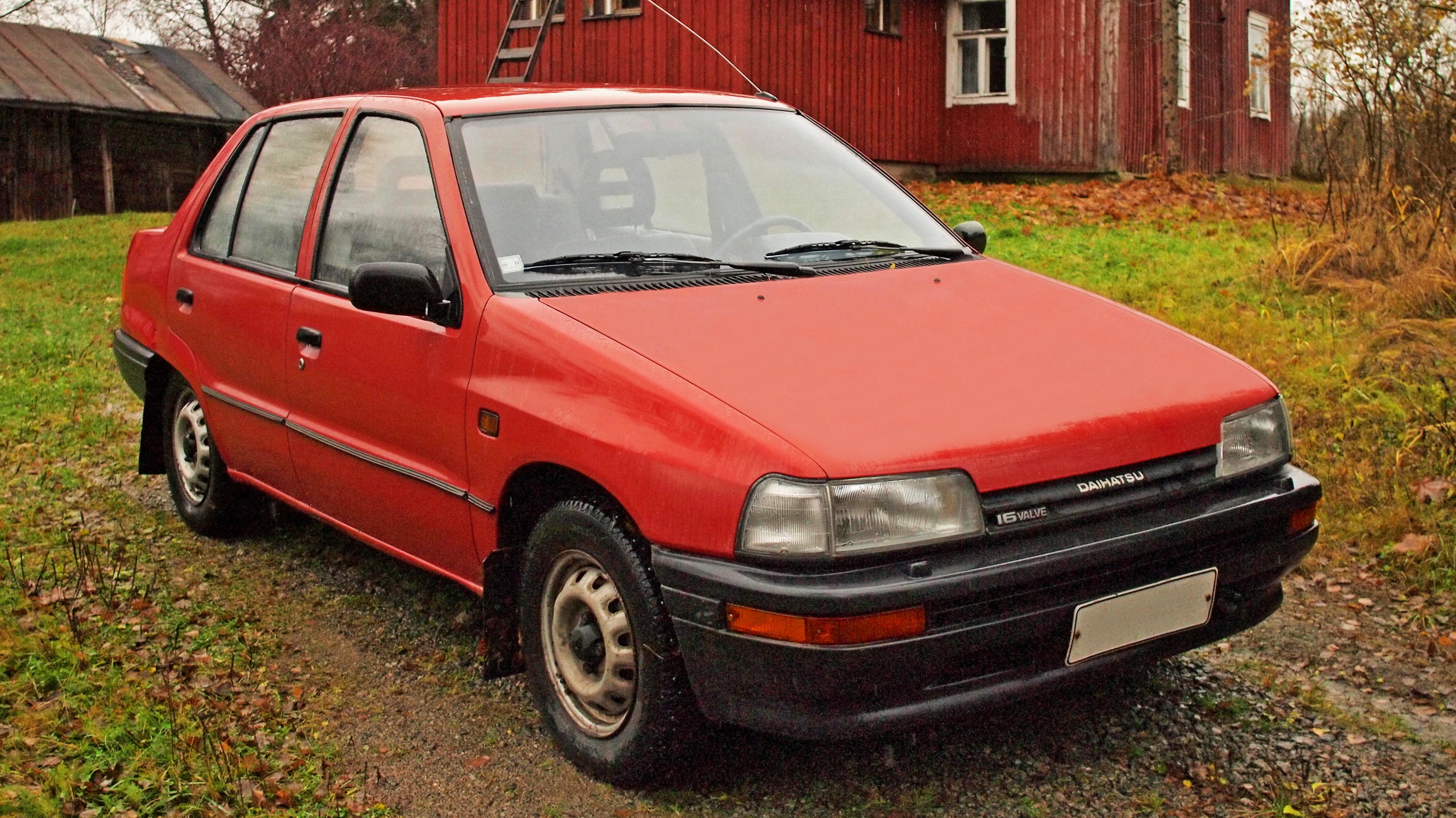 1991 Daihatsu Charade sg Sedan