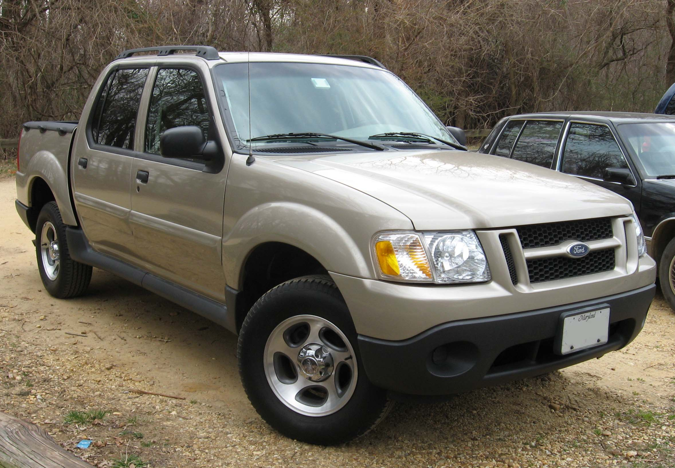 Ford Explorer Pickup >> File 1st Ford Explorer Sport Trac Jpg Wikimedia Commons