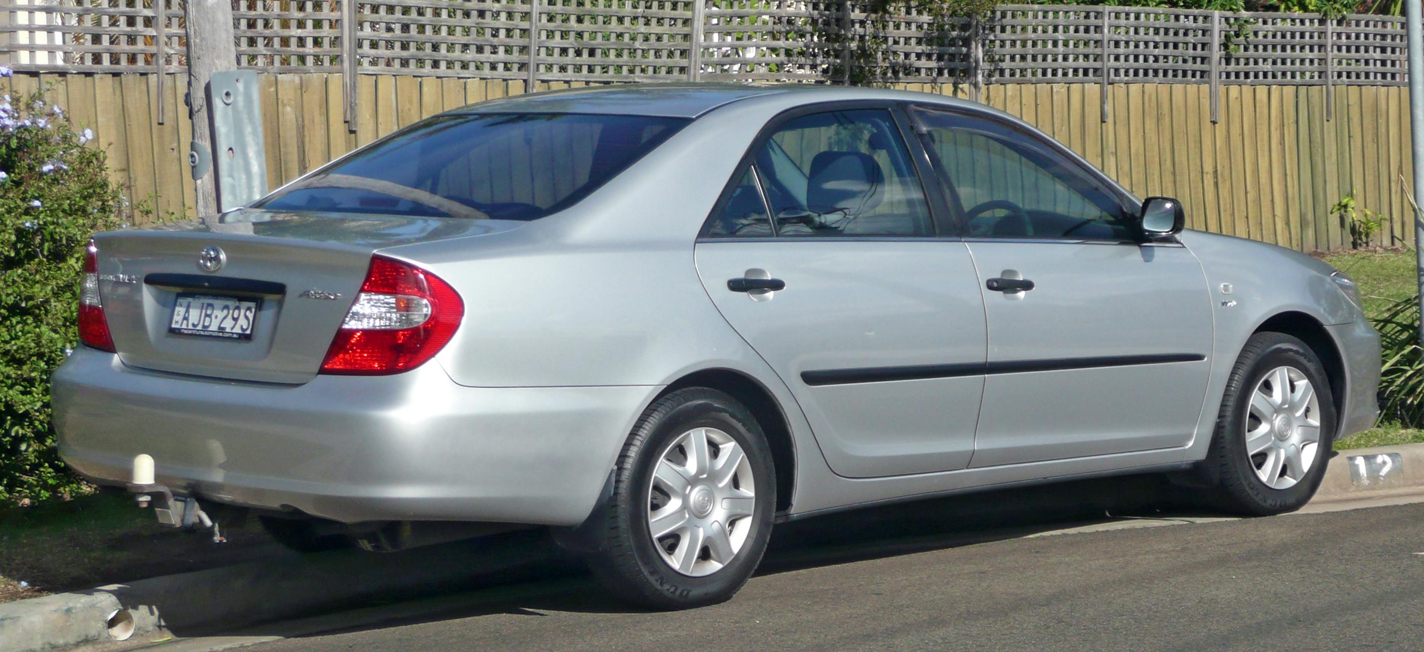 Тойота камри 2002 фото