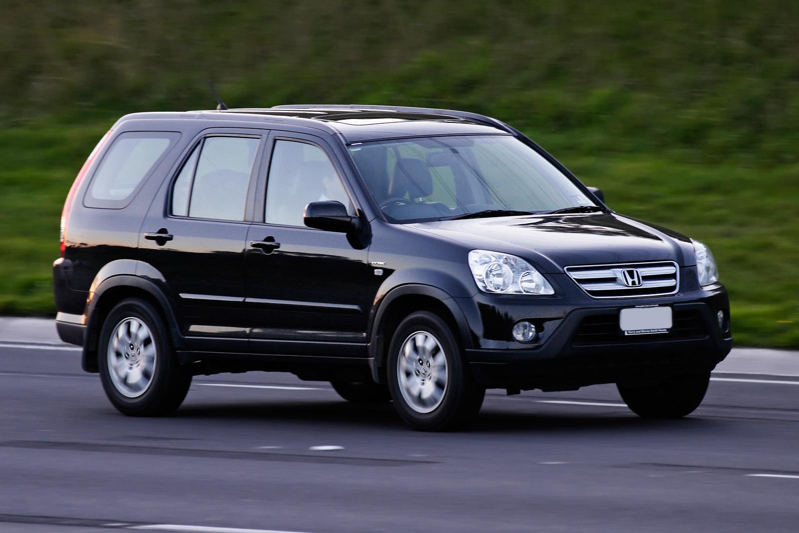 Honda honda cr-v 2005 : File:2005–2007 Honda CR-V Sport.jpg - Wikimedia Commons