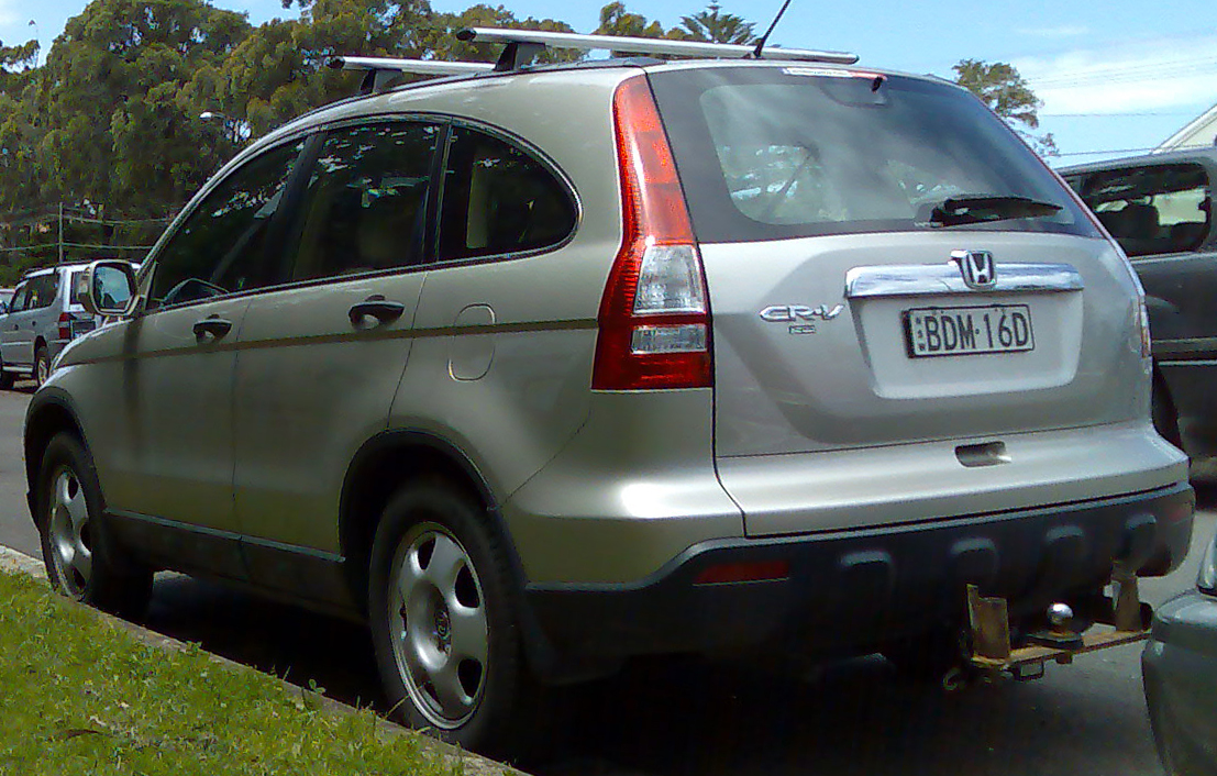 File:2007-2008 Honda CR-V (RE MY2007) wagon 01.jpg ...