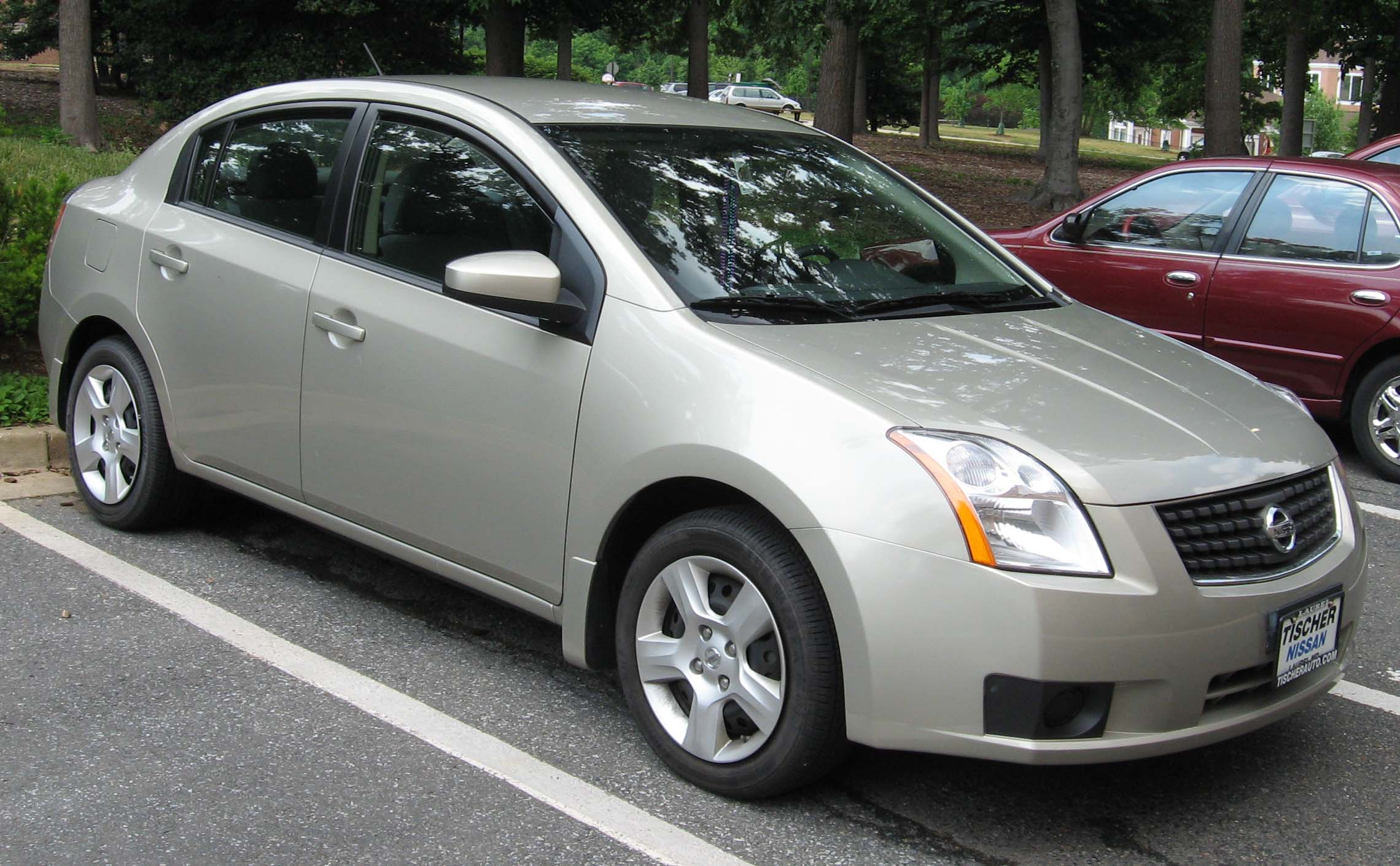 File:2007 Nissan Sentra.jpg - Wikimedia Commons