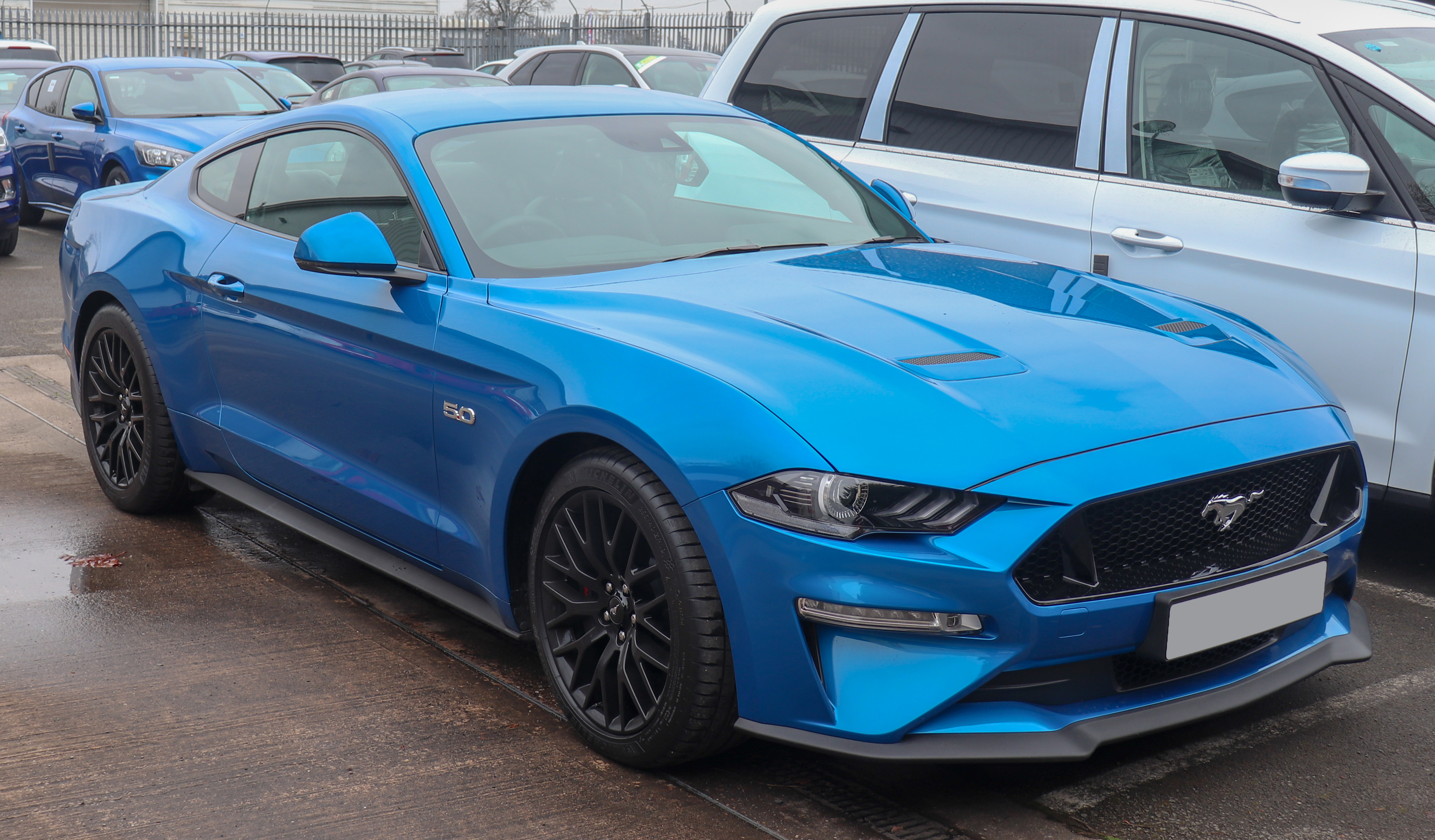 File:2019 Ford Mustang GT 5.0 facelift Front.jpg ...