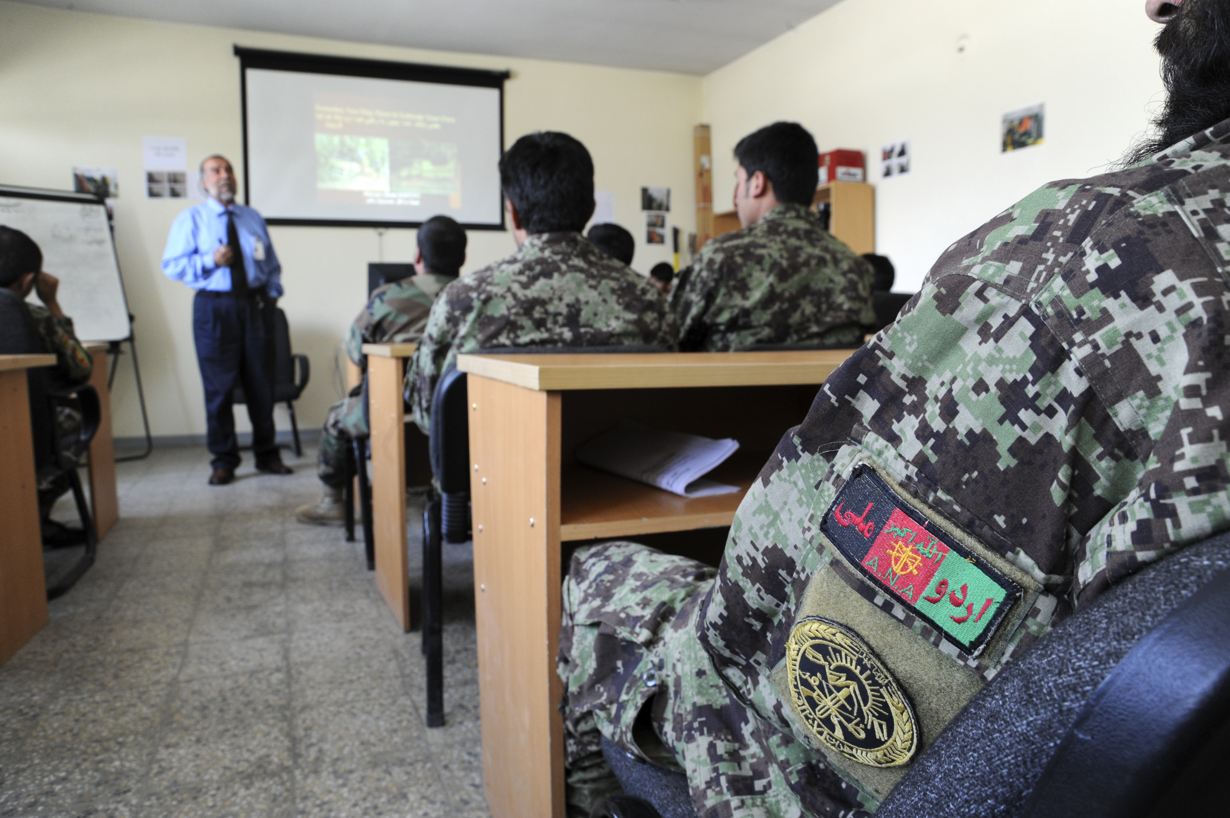 File:AFCENT command chief visits Afghan Air Force Airmen and