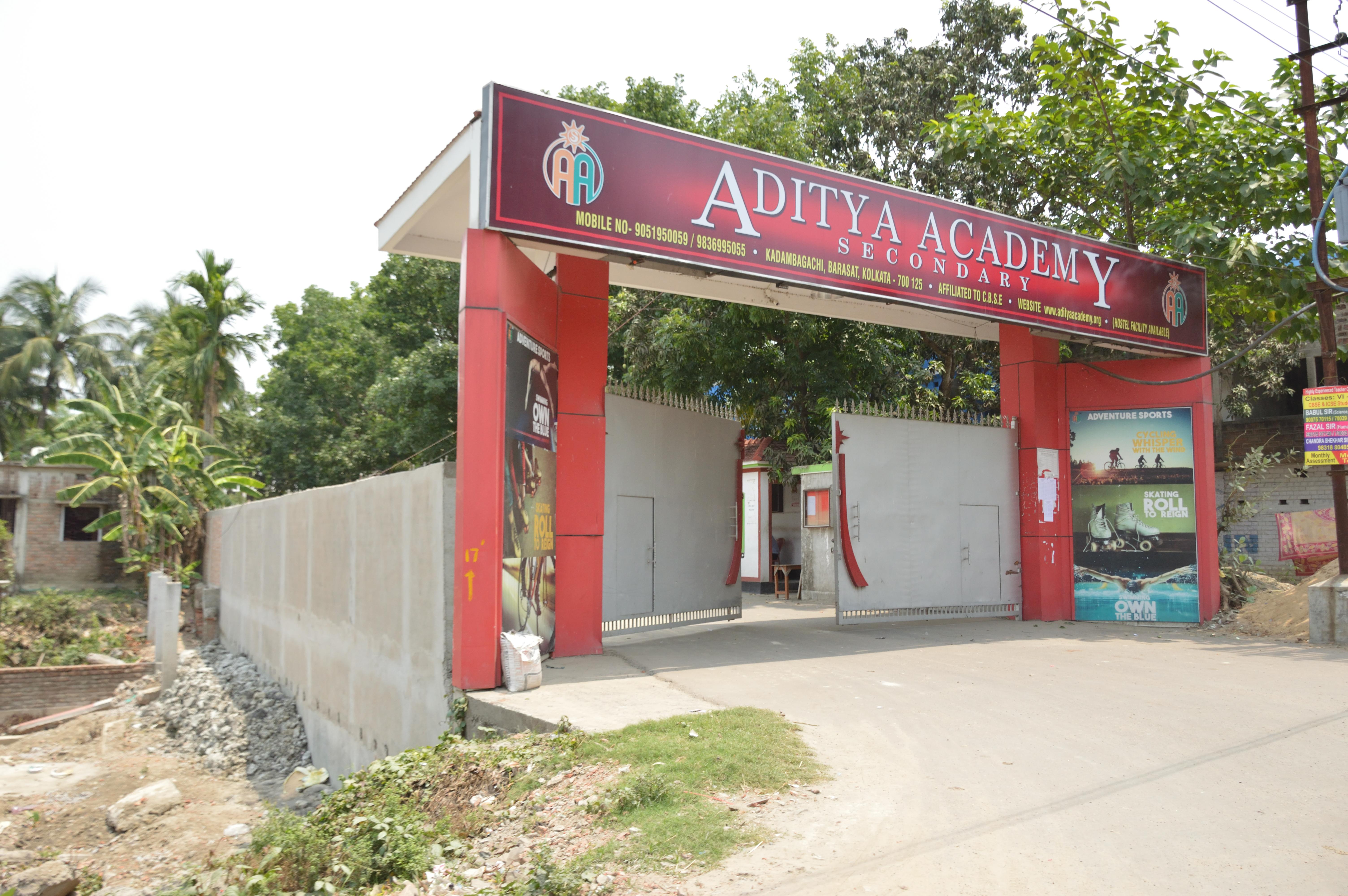 File:Aditya Academy - CBSE Secondary School - Kadambagachi - Taki Road -  North 24