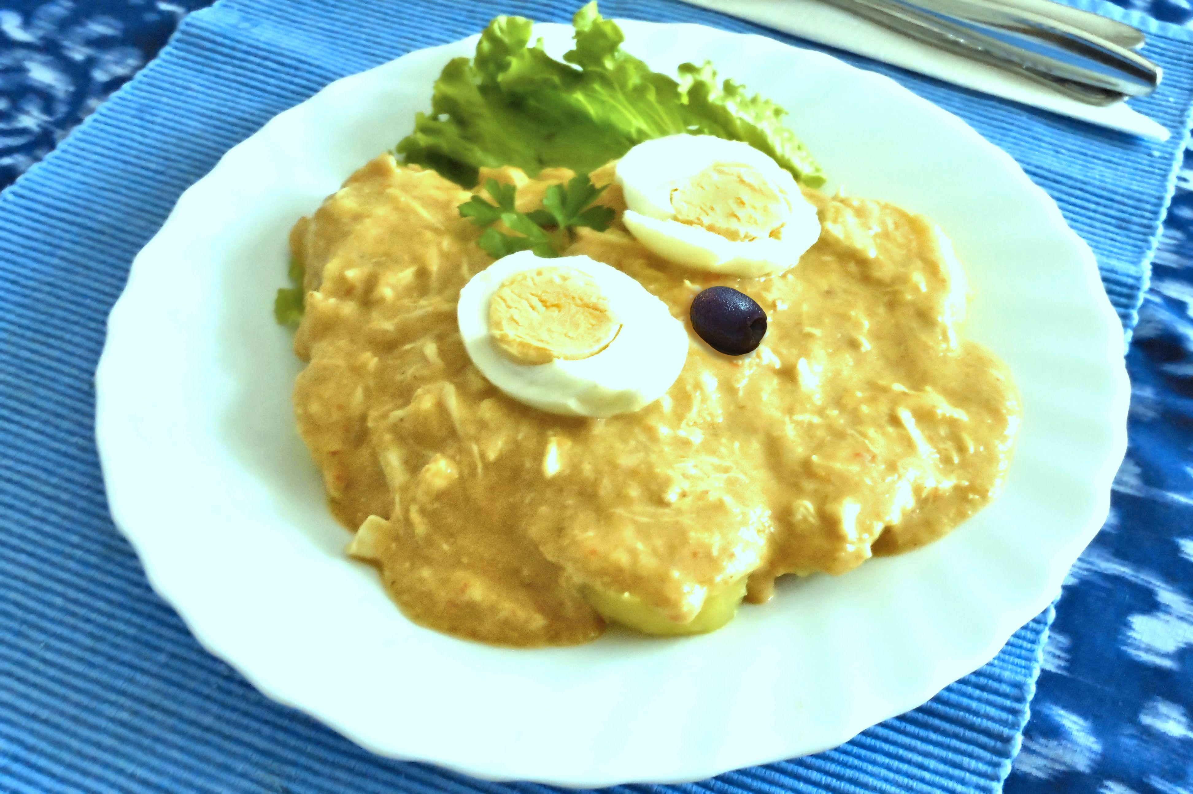 Gastronomía de vuestros países/comunidades autónomas Aj%C3%AD_de_gallina_-_Tradicional