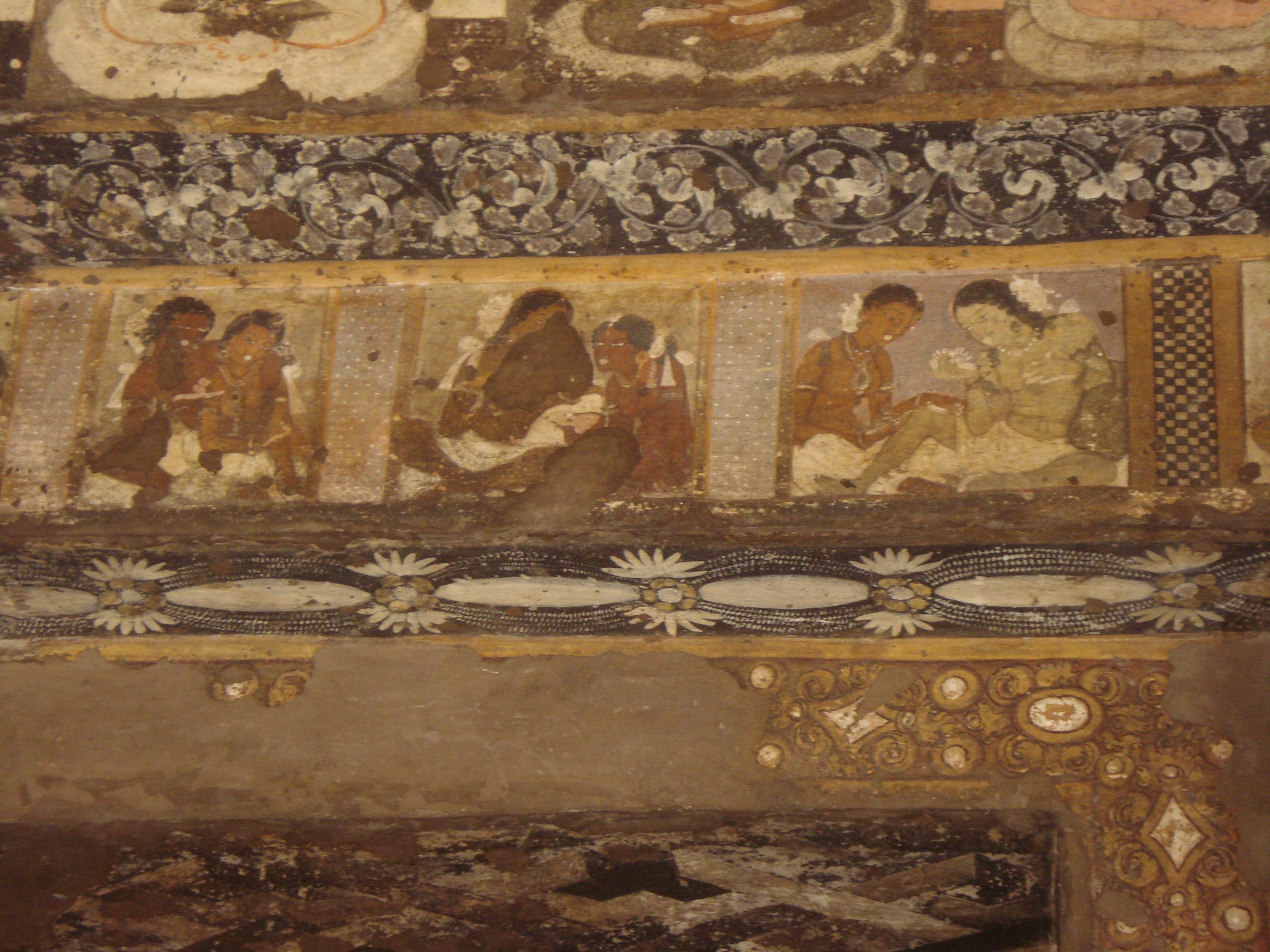 Ajanta Caves Paintings Images