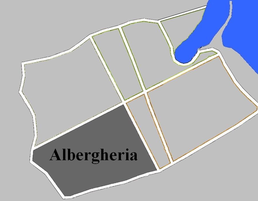 Mappa che mostra dove si trova l'Albergheria a Palermo - Raccolta Fondi per organo Carmine Maggiore