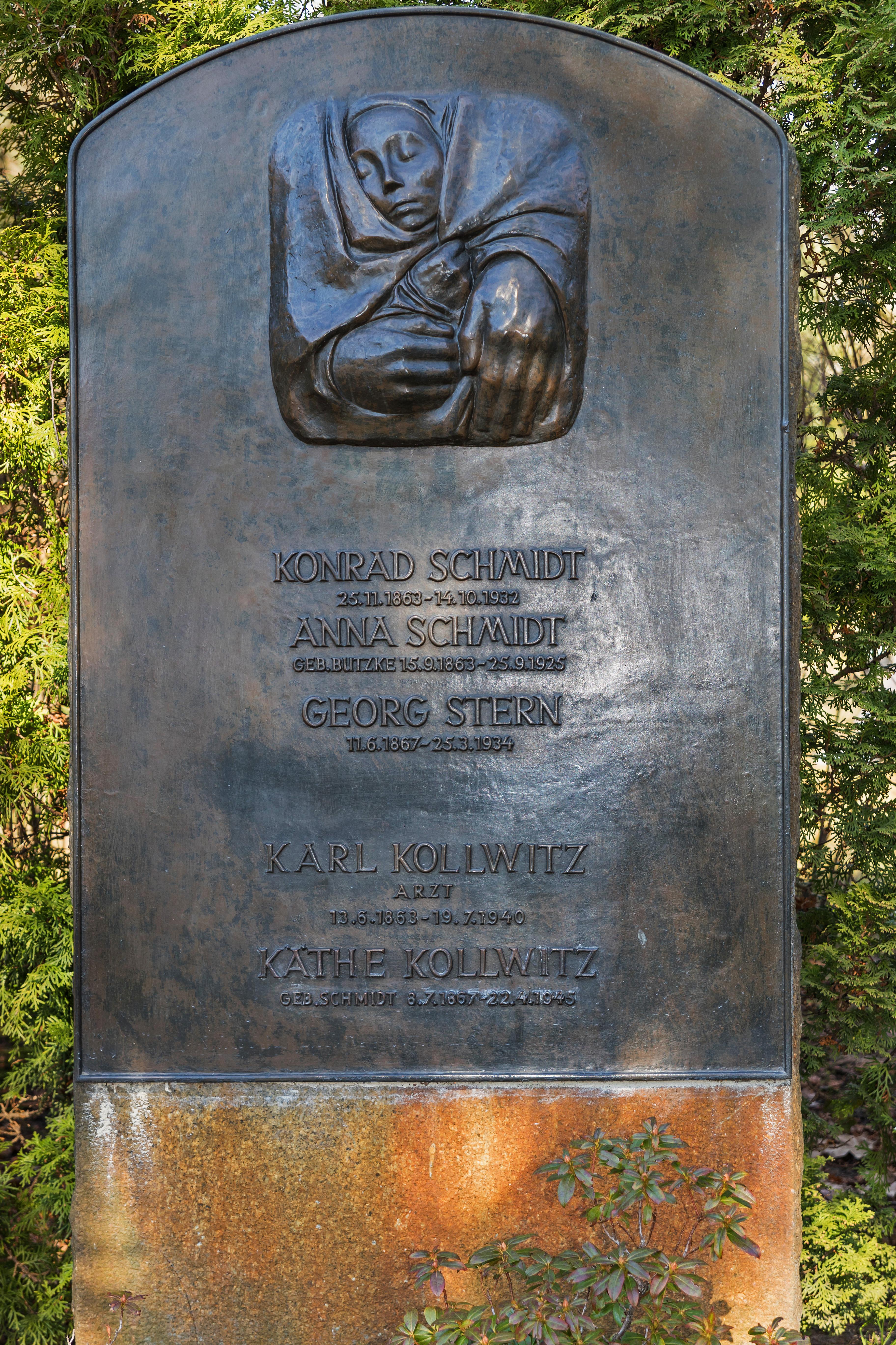B Friedrichsfelde Zentralfriedhof 03 2015 img22 Kaethe Kollwitz