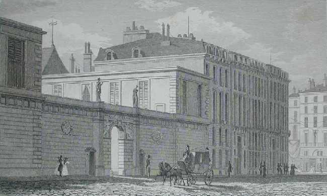 L'hôtel de Toulouse, demeure du duc de Penthtièvre et de la princesse de Lamballe, Paris BanqueDeFrance