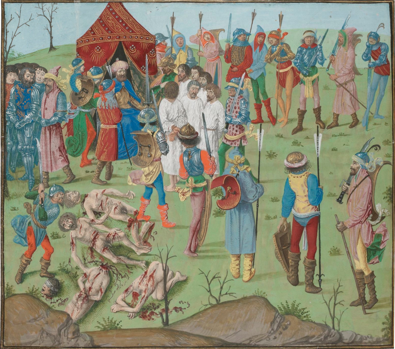 File:Battle of Nicopol aftermath Thr masacreofthecristians