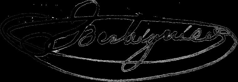 signature de Benoit Tranquille Berbiguier