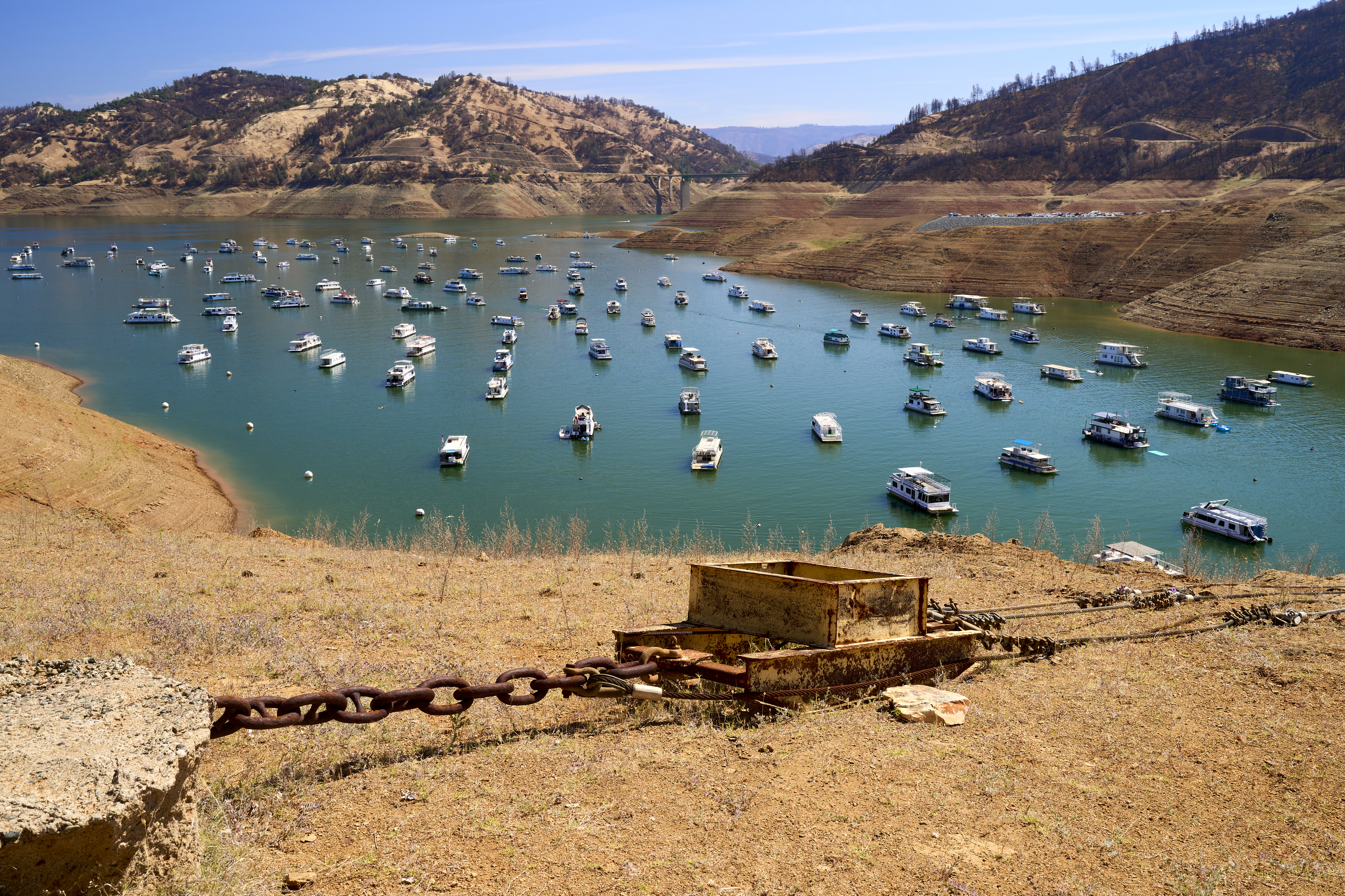 Drought Seriously Threatens Hydro-Electric Power in California