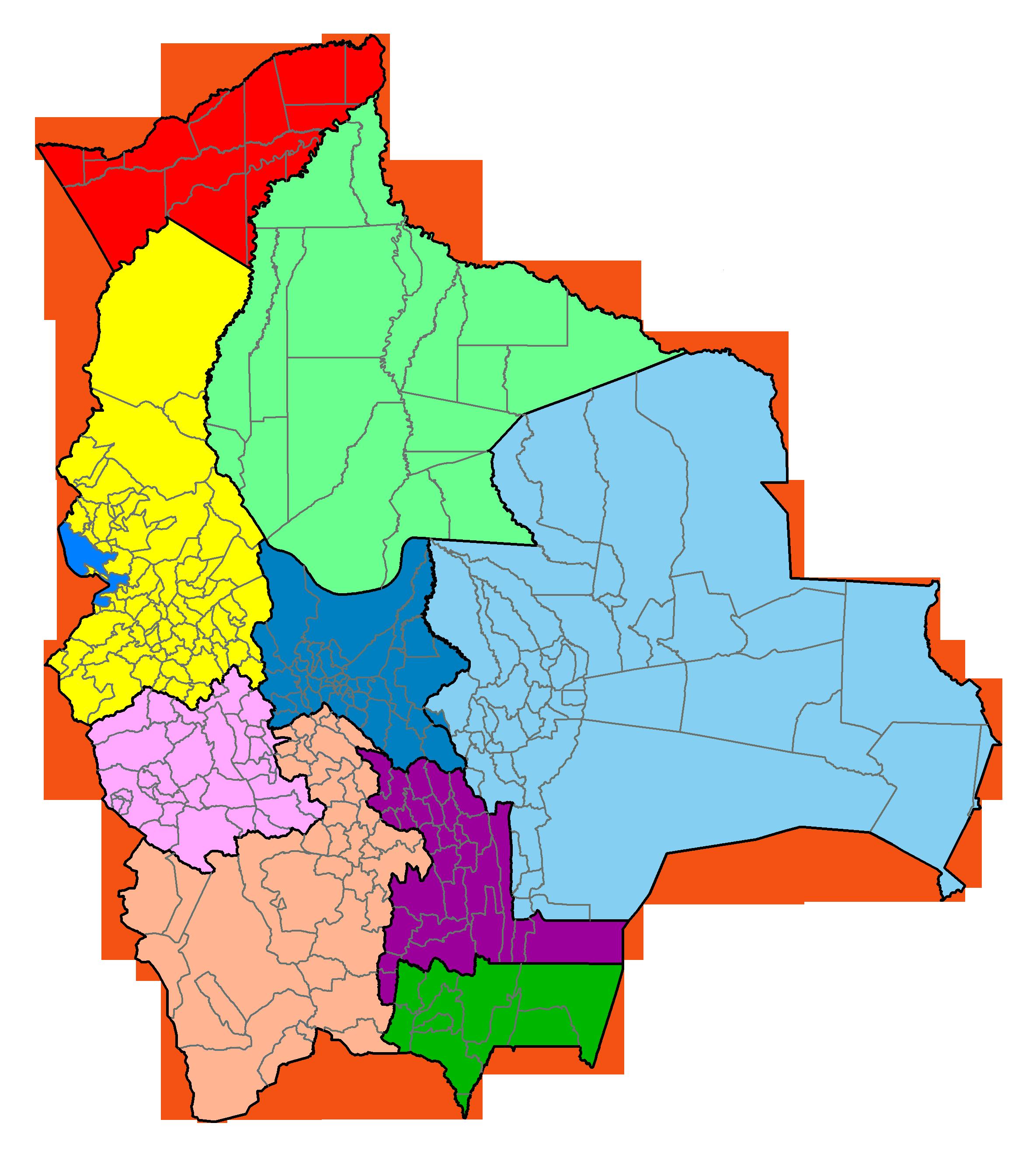 Mapa Econmico De Bolivia