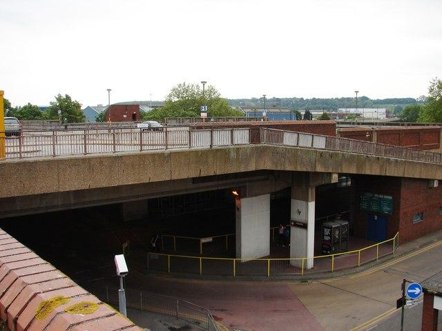 File:Bright car park, dark bus station - geograph.org.uk - 1319919.jpg