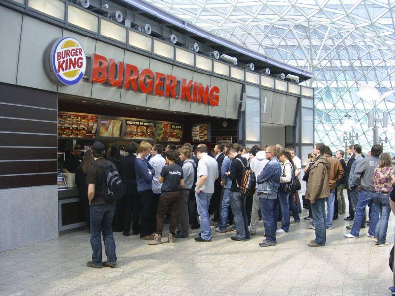 Image result for burger king line