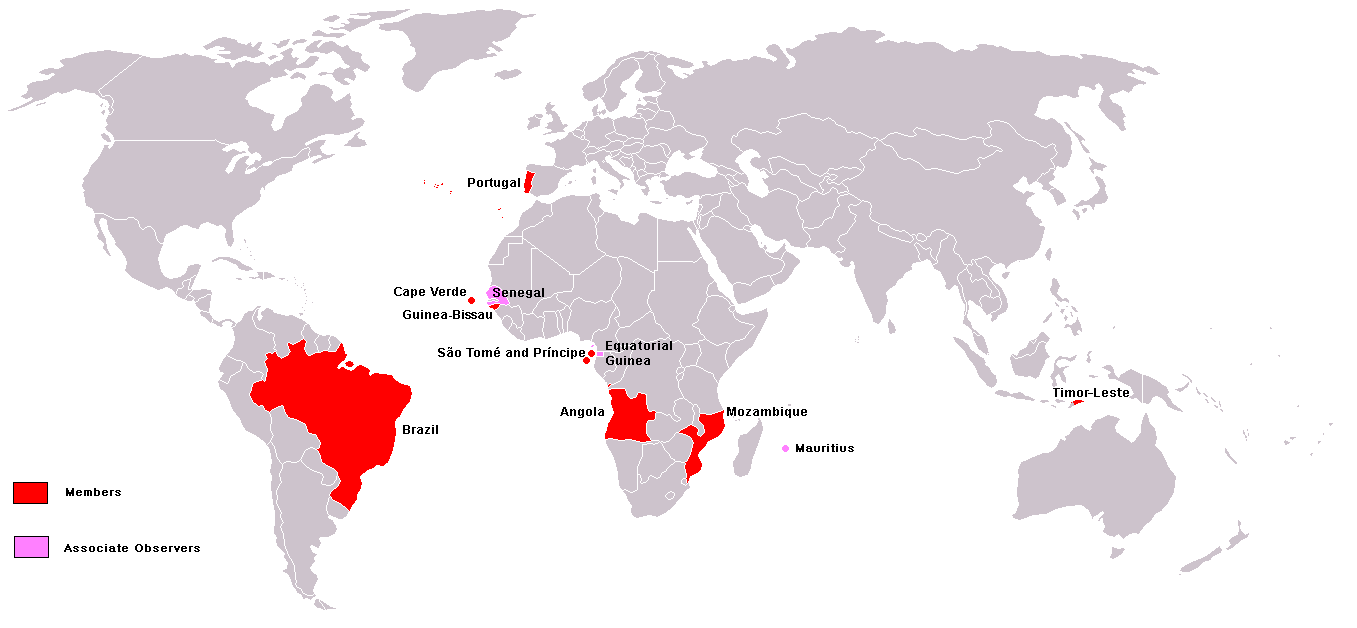 Members of the Community of Portuguese Language Countries