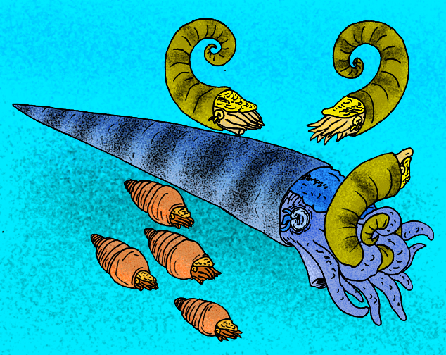 Grandes depredadores marinos prehistóricos