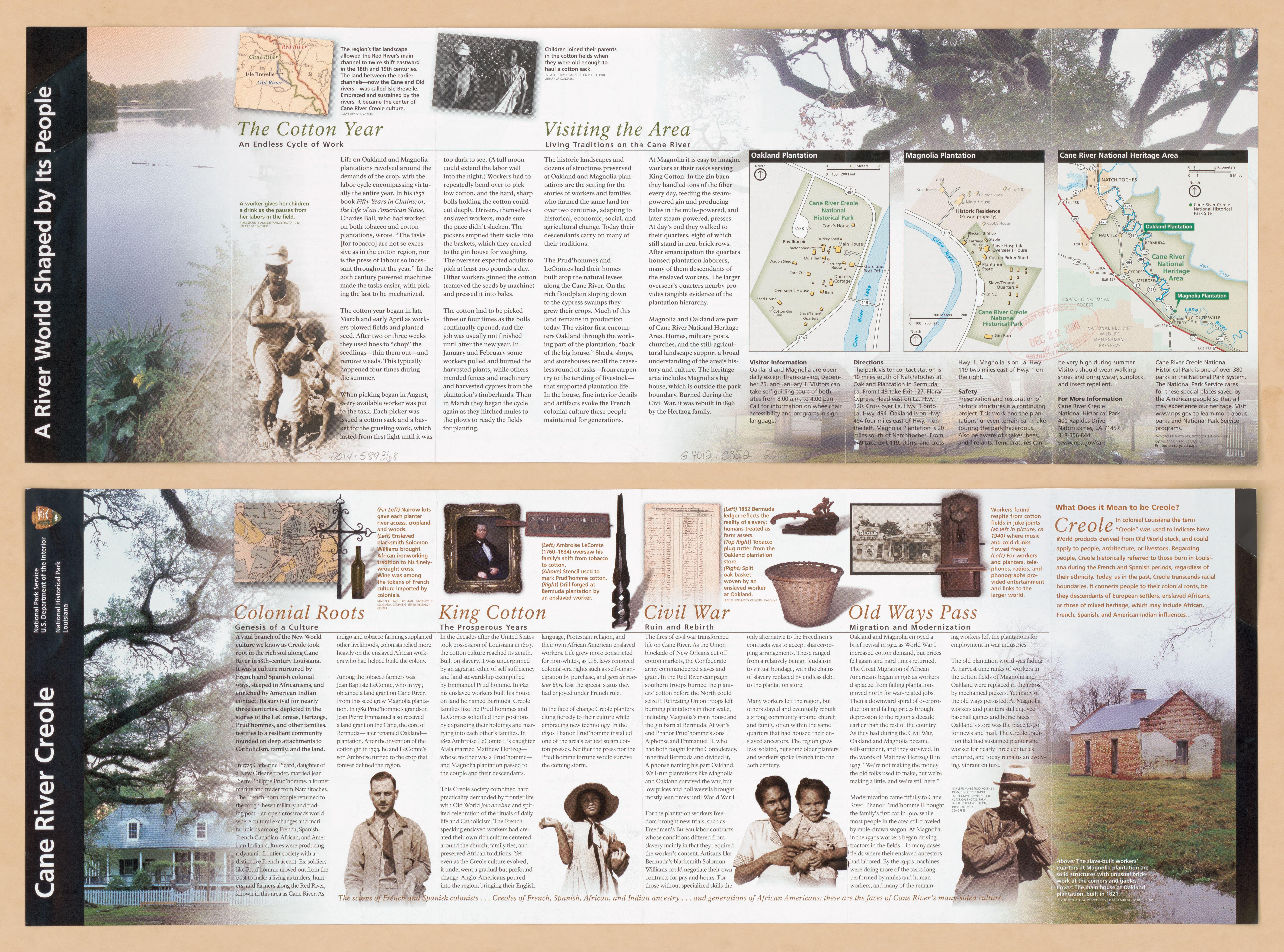cane river louisiana map File Cane River Creole National Historical Park Louisiana Loc cane river louisiana map