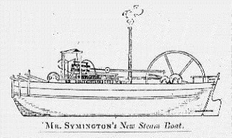 January 5: steamboat Charlotte Dundas is demonstrated. Charlotte dundas drawing symington.jpg