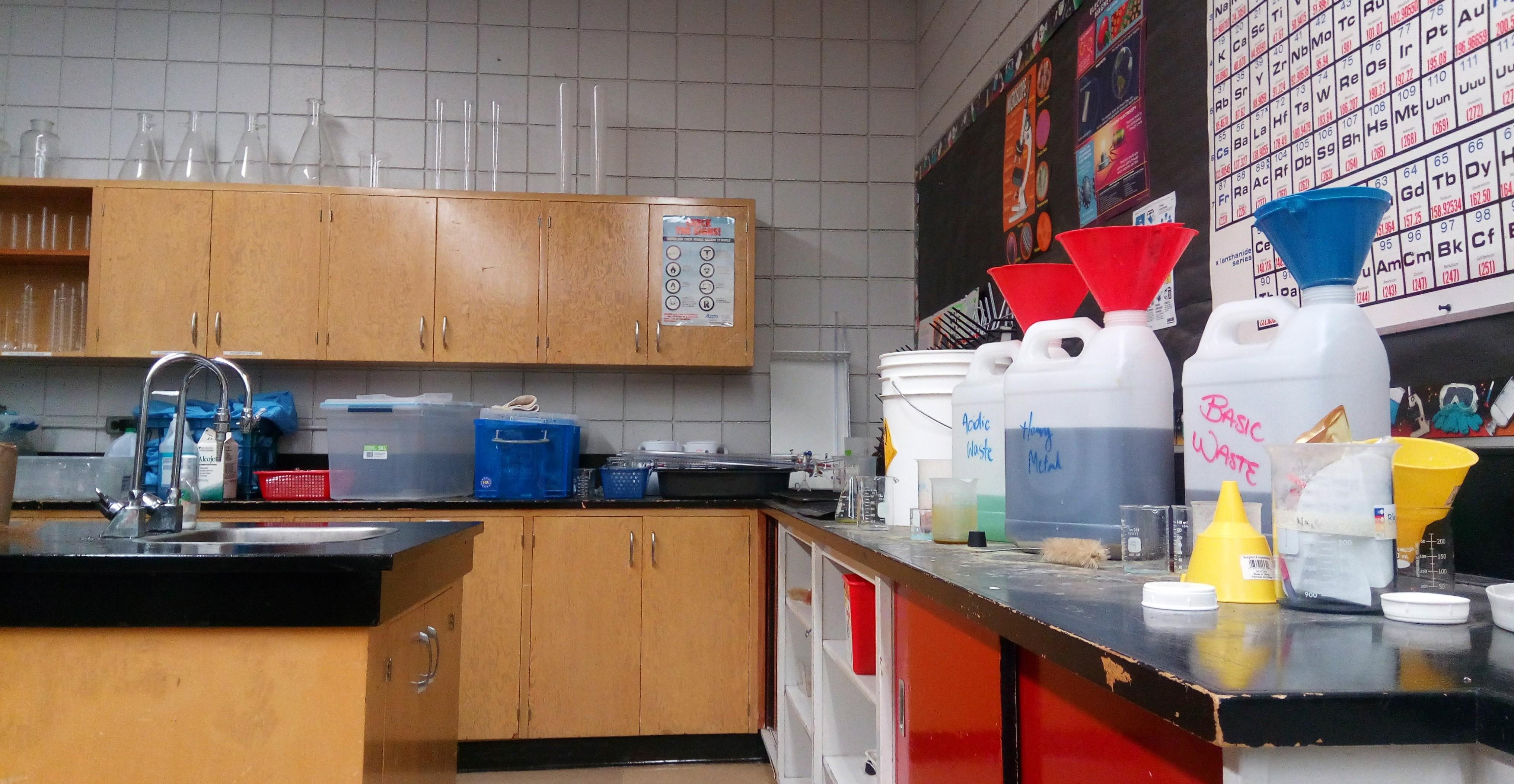 Image result for school chemistry lab