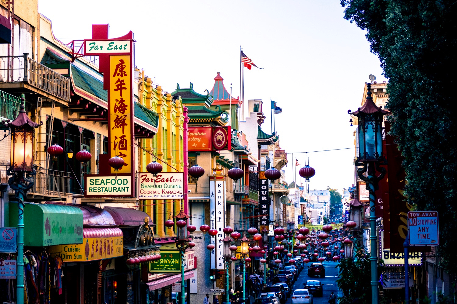 picture of SF's Chinatown for travel article