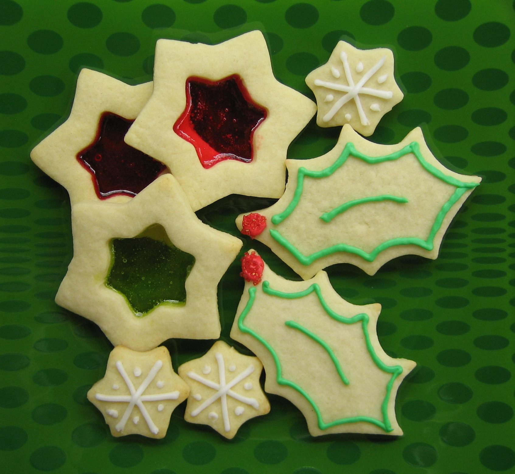 Moldes y cortapastas para la receta y decoración de las galletas de Navidad