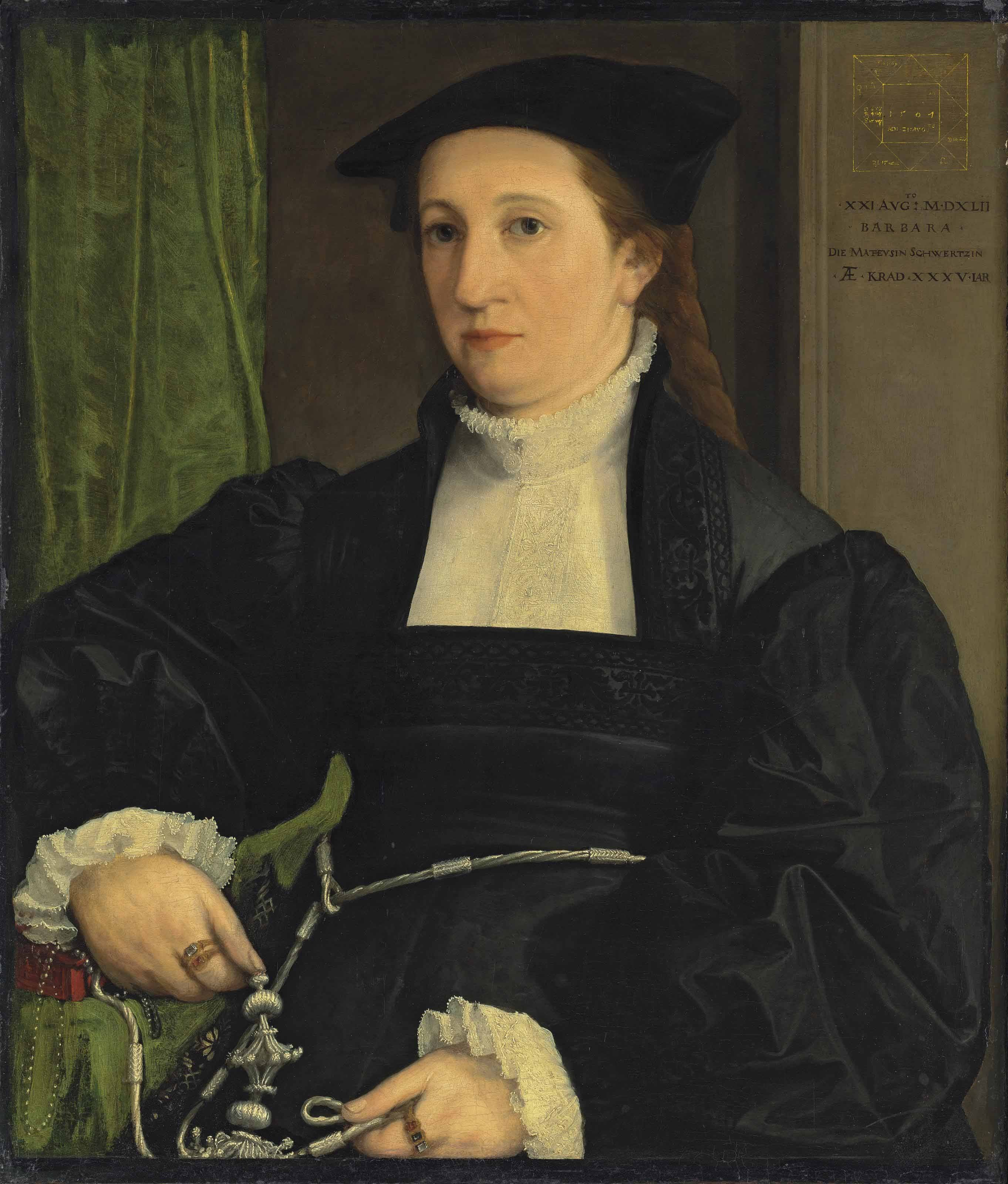 File:Christoph Amberger - Bildnis Barbara Schwarz (1542).jpg