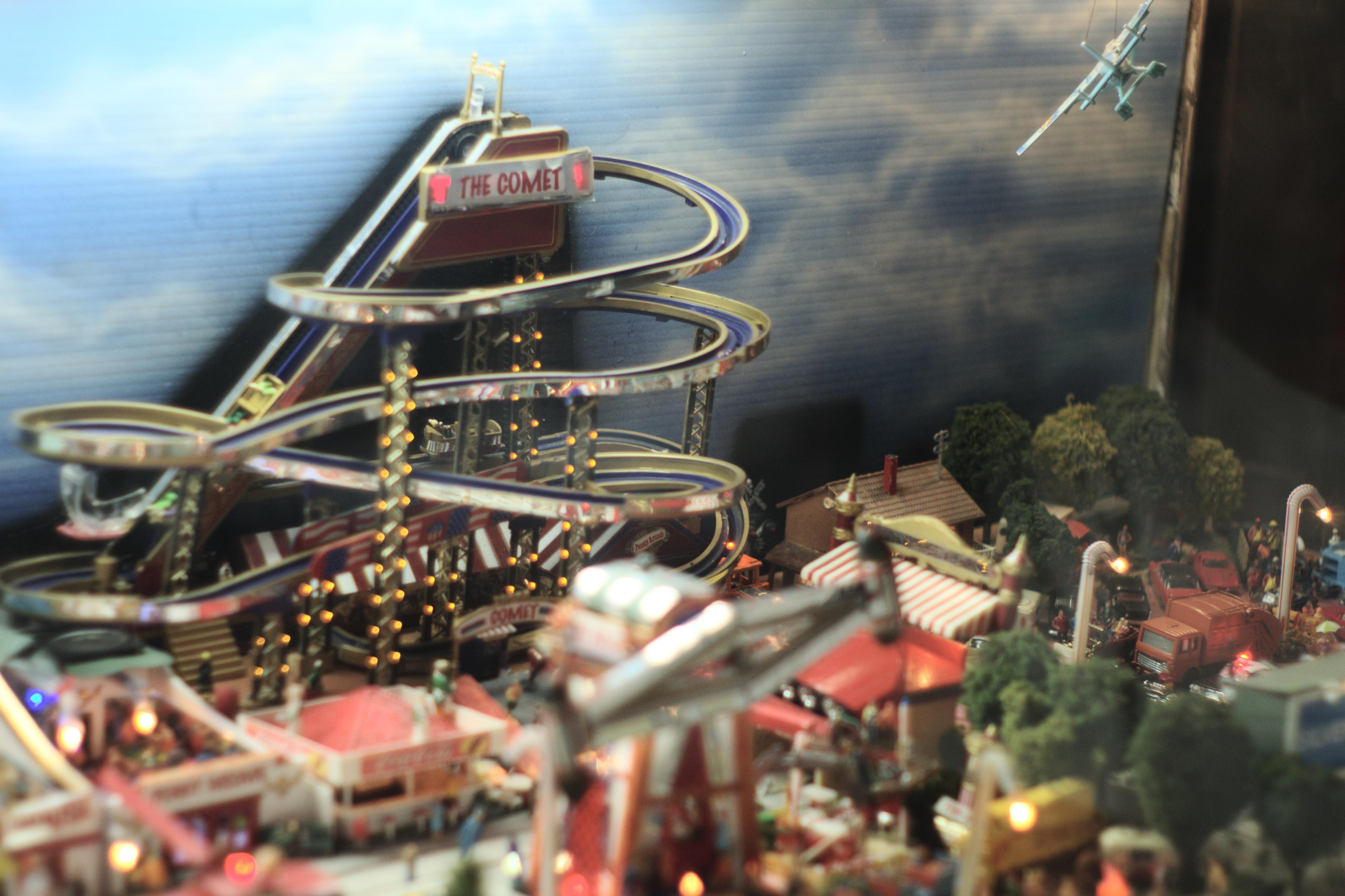 File Comet Roller Coaster Old Silver Beach Model St Joseph Michigan