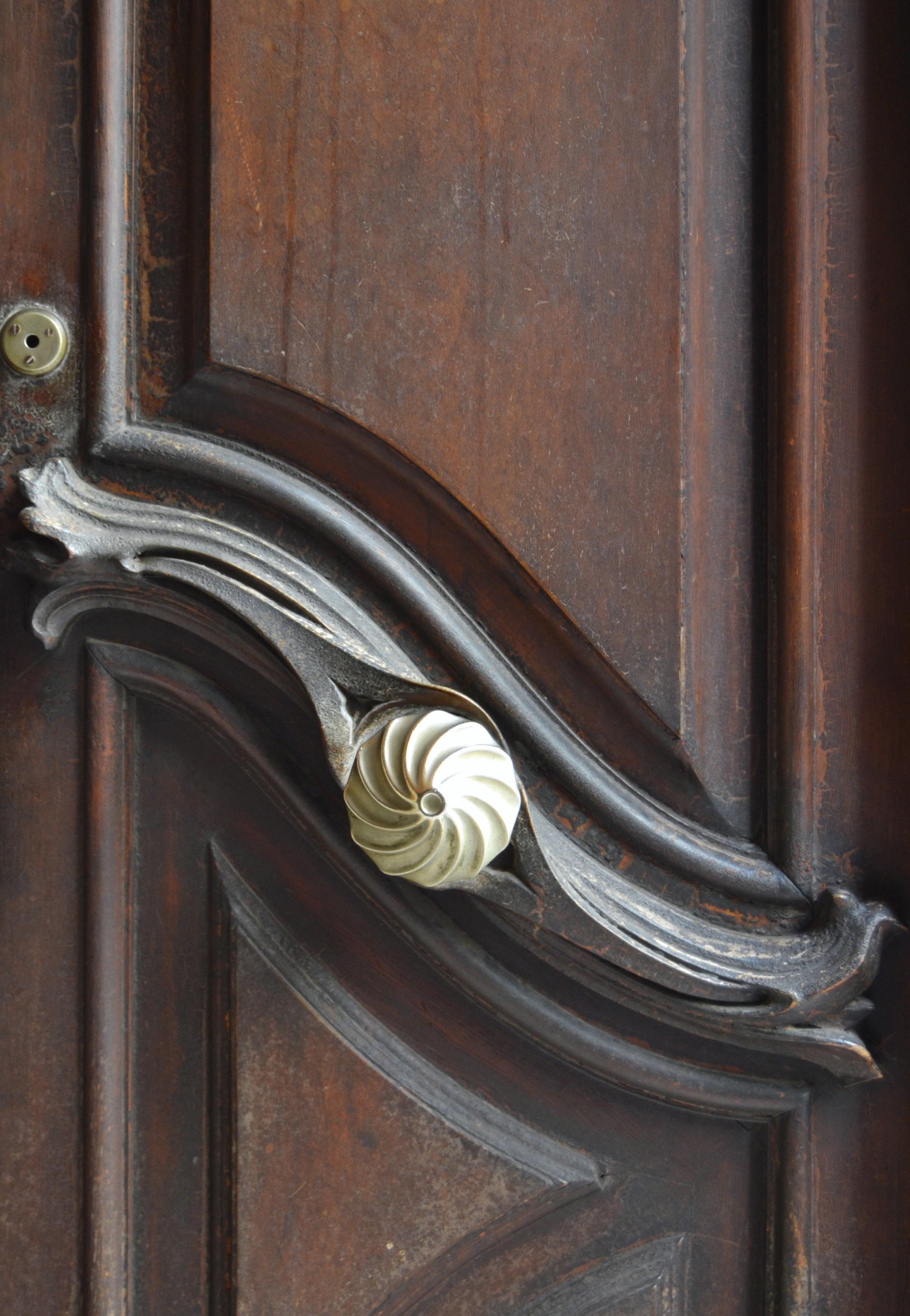 File detall de la porta de la casa aznar de val ncia jpg for La porta media